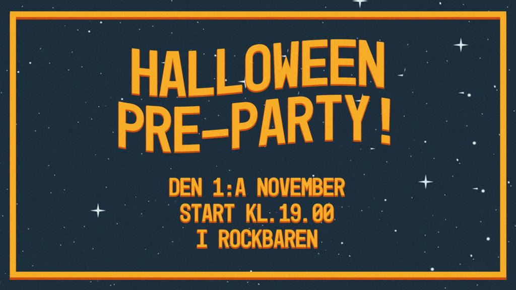 Halloween Pre-Party på Tolv Stockholm